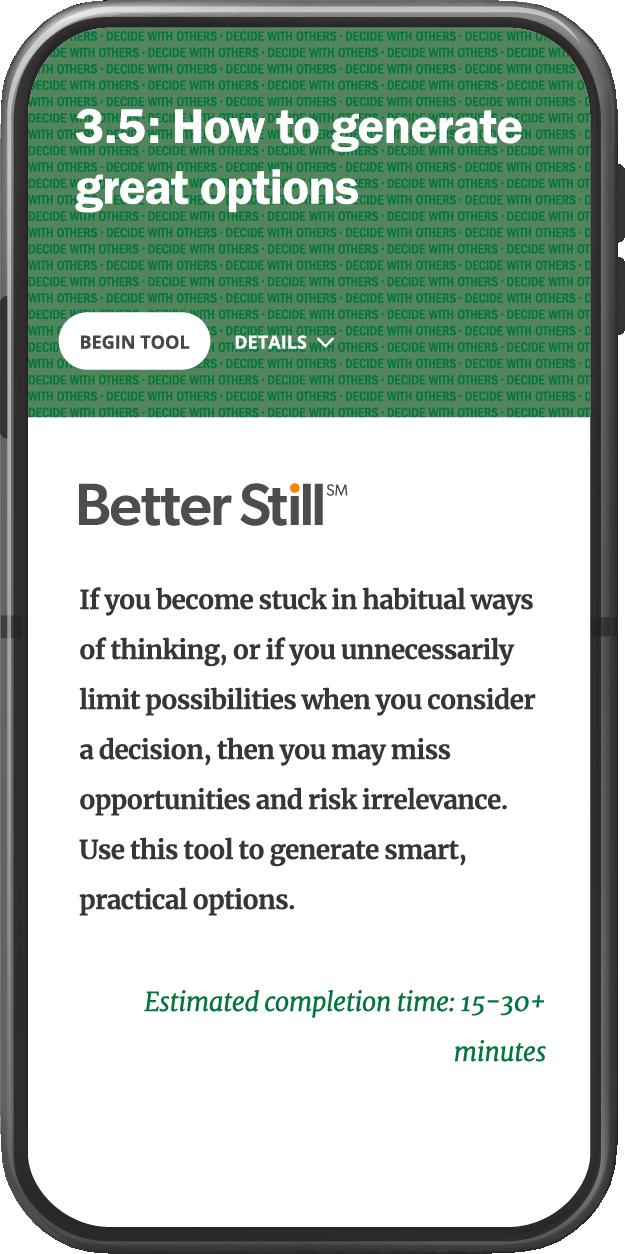 Better Still Tool 3.5