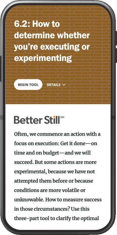 Better Still Tool 6.2
