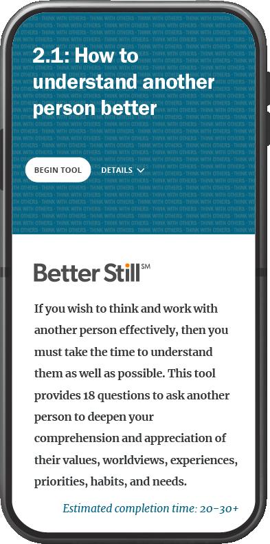 Better Still Tool 2.1